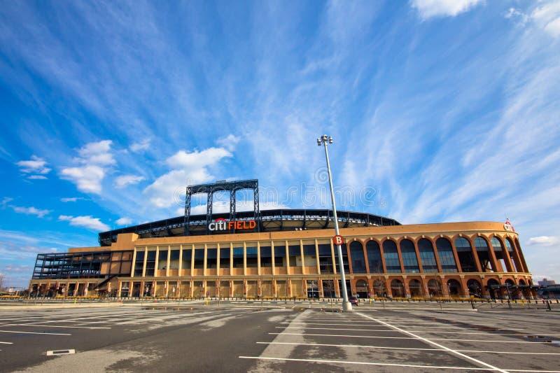 NY Mets Citi Gebiedsstadion royalty-vrije stock foto's