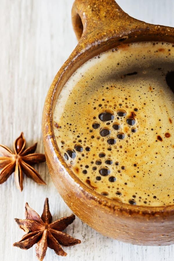 ny morgon för kaffe fotografering för bildbyråer