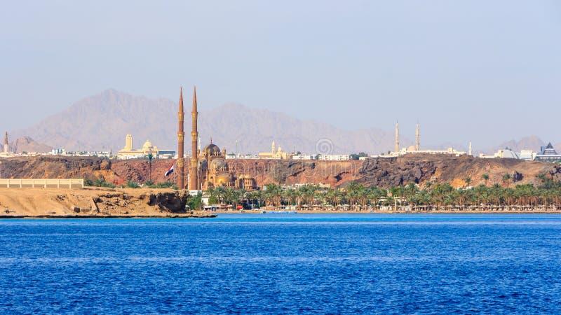 Ny moské för Sharm el Sheikh fotografering för bildbyråer