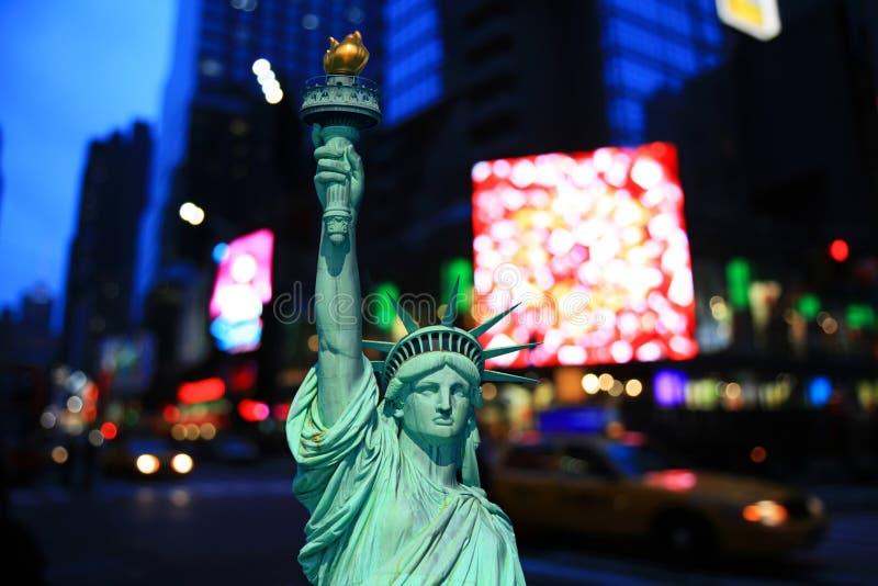 ny natt york för stadsdag royaltyfria foton