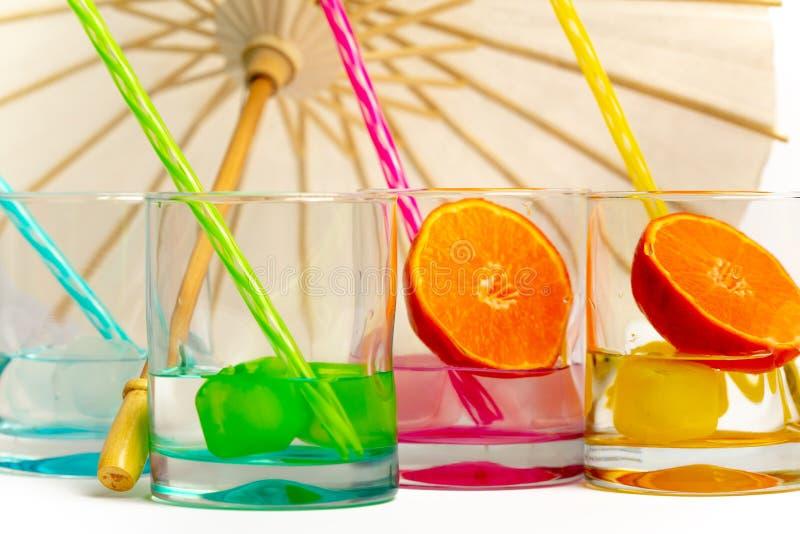 Ny och kall drink för en varm dag royaltyfria bilder