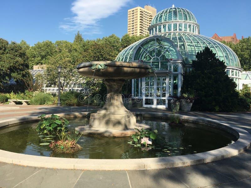NY ogródy botaniczni obrazy stock