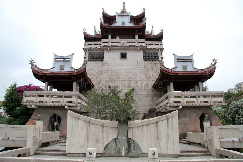 ny pagoda arkivbild
