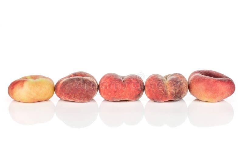 Ny Paraguay persika som isoleras på vit royaltyfria foton