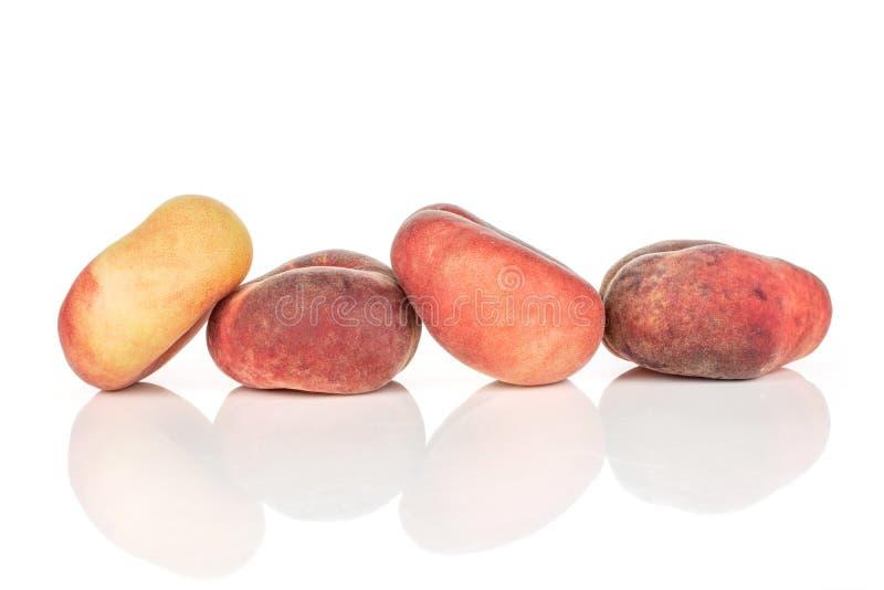 Ny Paraguay persika som isoleras på vit arkivfoto
