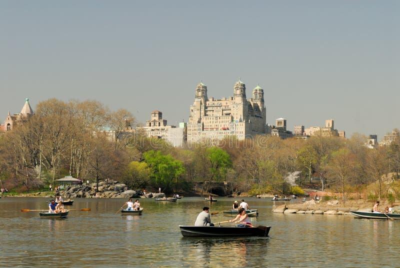 ny park york för central lake arkivbilder
