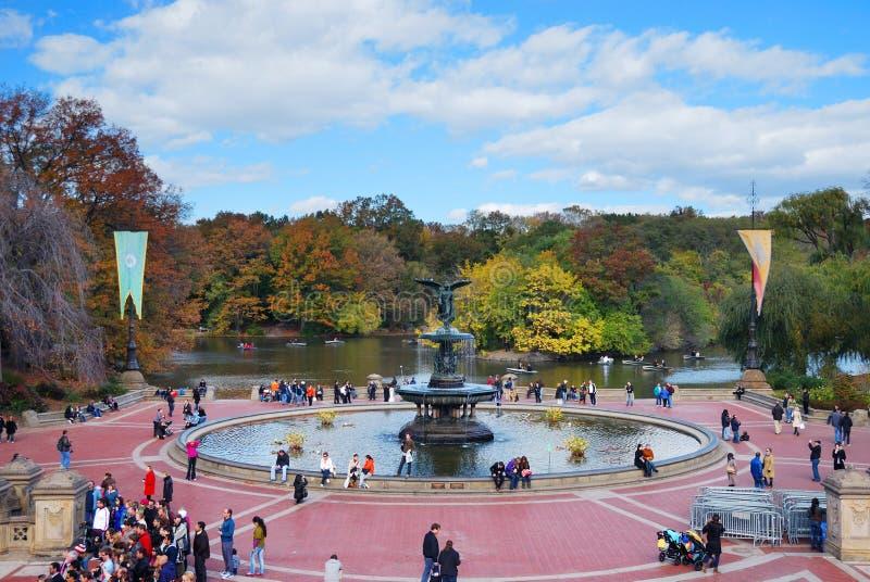 ny park york för central stad royaltyfria foton