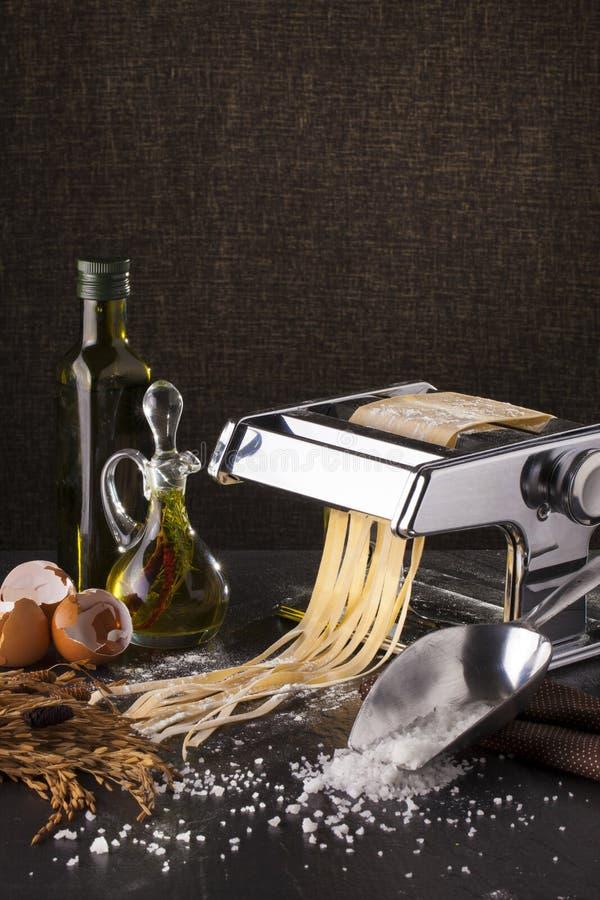 ny pasta royaltyfri bild