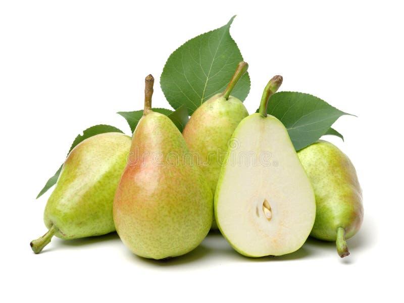 ny pear royaltyfri bild