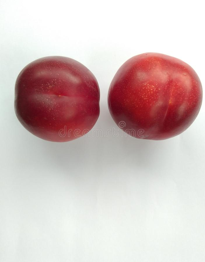 Ny persika, hälsosam mat fotografering för bildbyråer