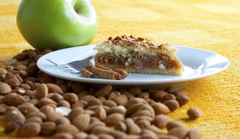 ny pie för äpple arkivfoto