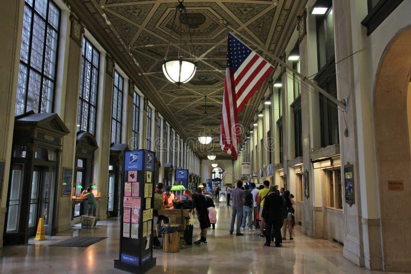 NY Postkantoor stock fotografie