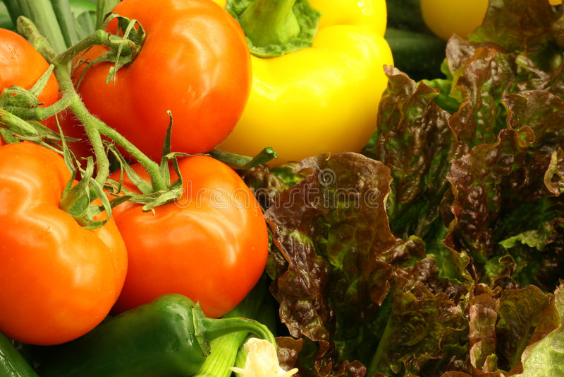 ny produce royaltyfri bild