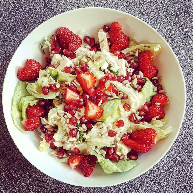ny salat royaltyfri bild