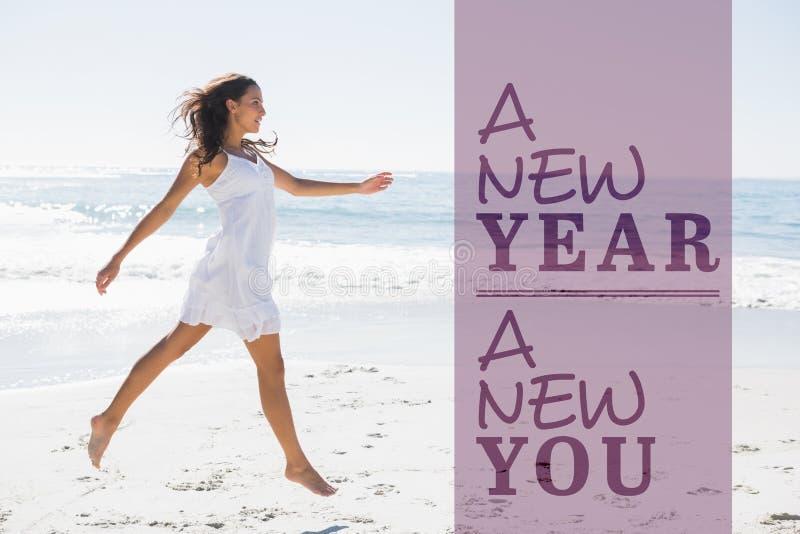 Ny sammansatt bild av det nya året dig arkivbilder