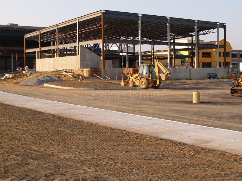 ny skolalokal för konstruktion royaltyfri foto