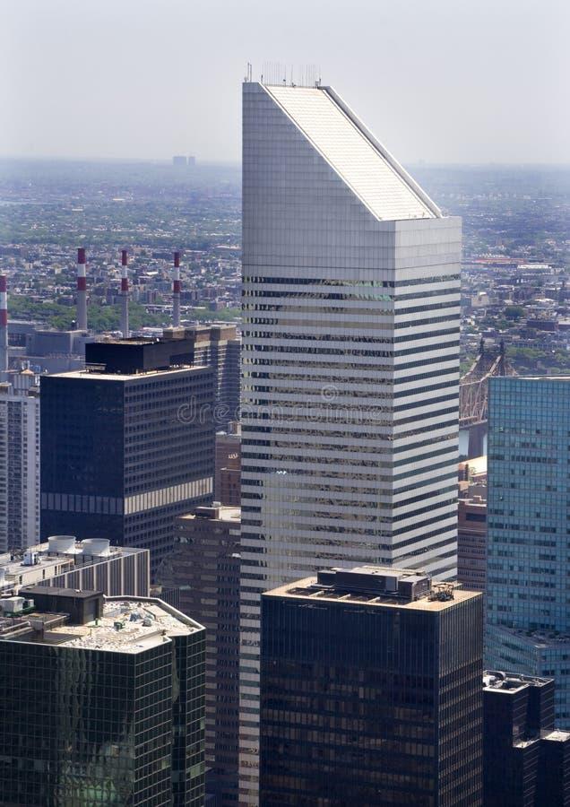 ny skyskrapa york för byggnadscitistad royaltyfria foton