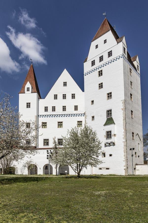 Ny slott i Ingolstadt, Bayern, Tyskland Bayern, Tyskland royaltyfri bild