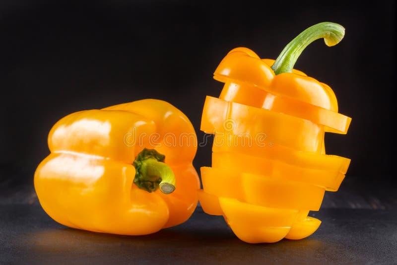 Ny spansk peppar eller paprika, s?t peppar royaltyfria bilder