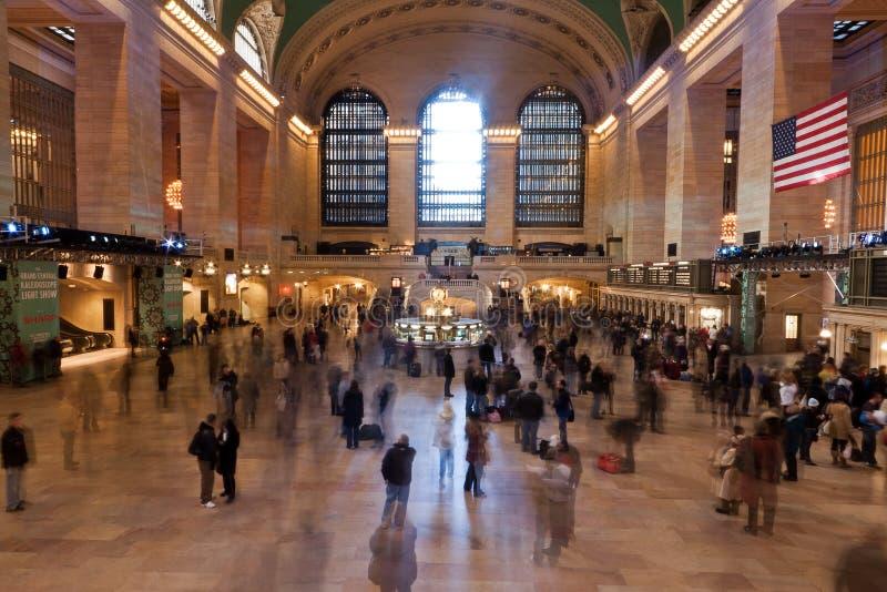 ny station york för central stad fotografering för bildbyråer
