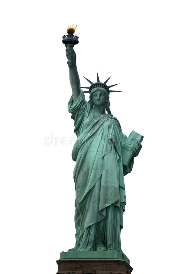 NY Statue of Liberty stock photos
