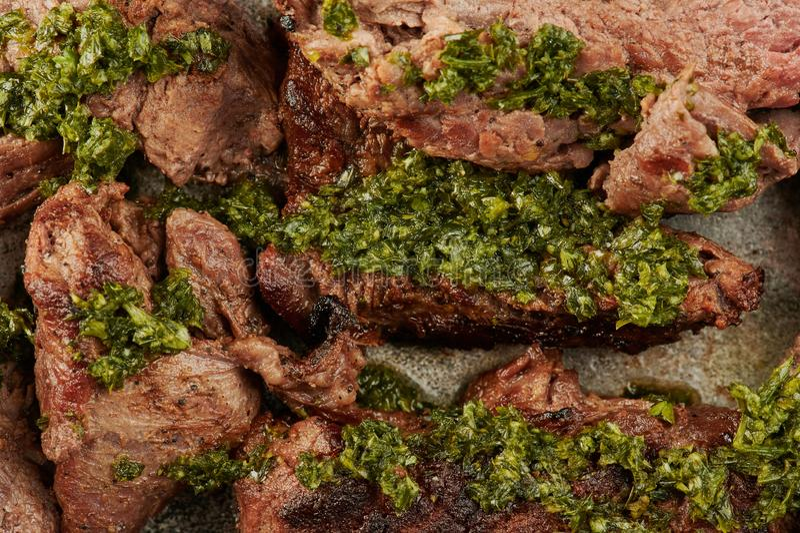 ny steak f?r n?tk?tt arkivbilder