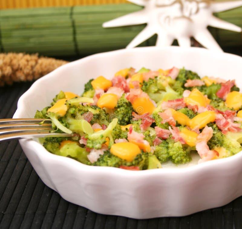 ny stew för broccoli arkivbilder
