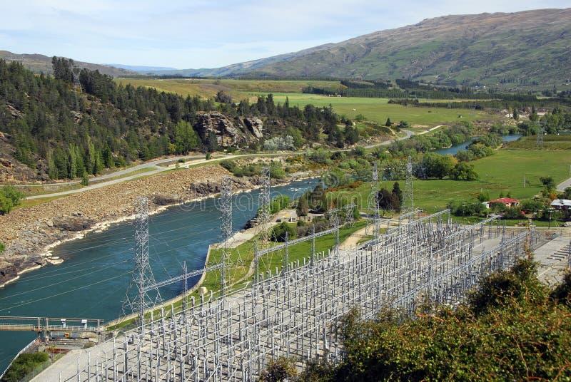 ny strömstation zealand för hydro arkivbild
