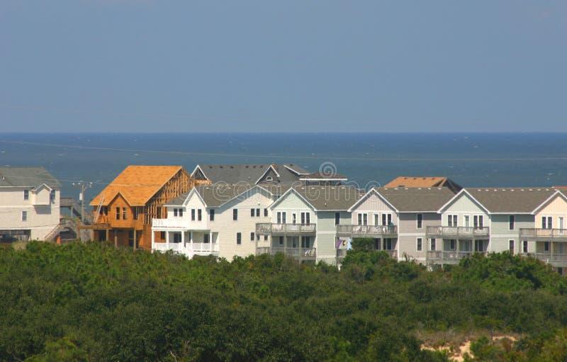 ny strandkonstruktionsutgångspunkt royaltyfri bild