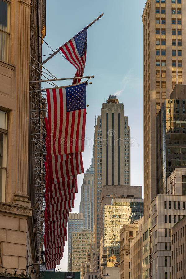 NY Streets II royalty free stock photos