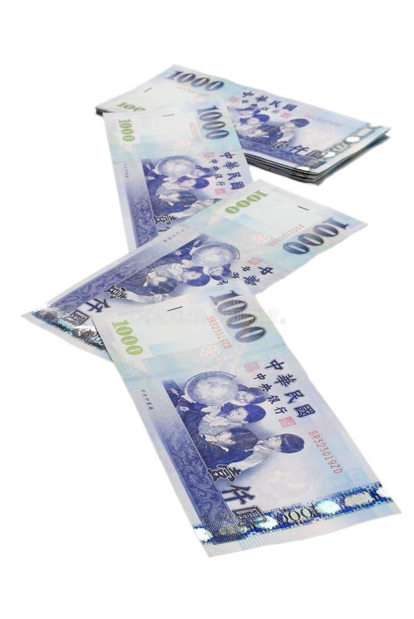Ny Taiwan dollarbill för 1000 royaltyfri fotografi