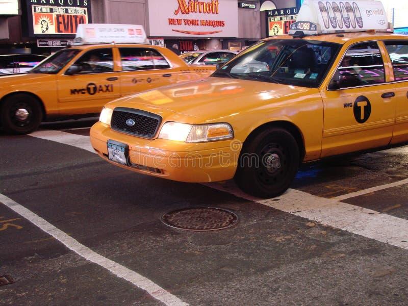 NY taxi stock image