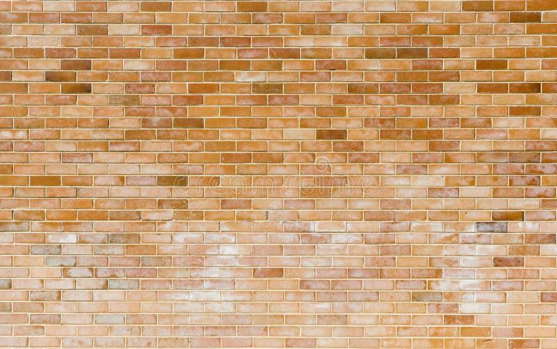 Ny tegelstenvägg arkivfoton
