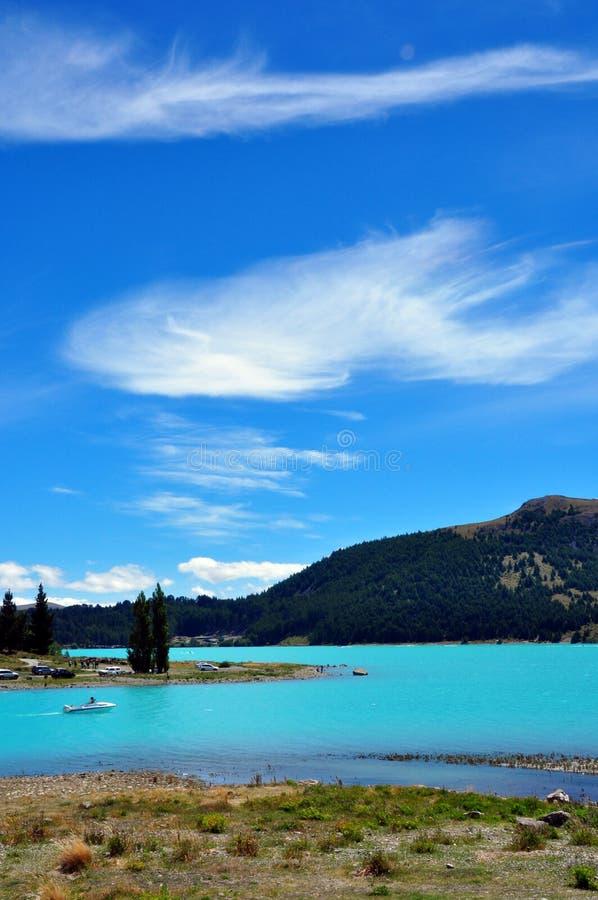 ny tekapo zealand för lake royaltyfria foton
