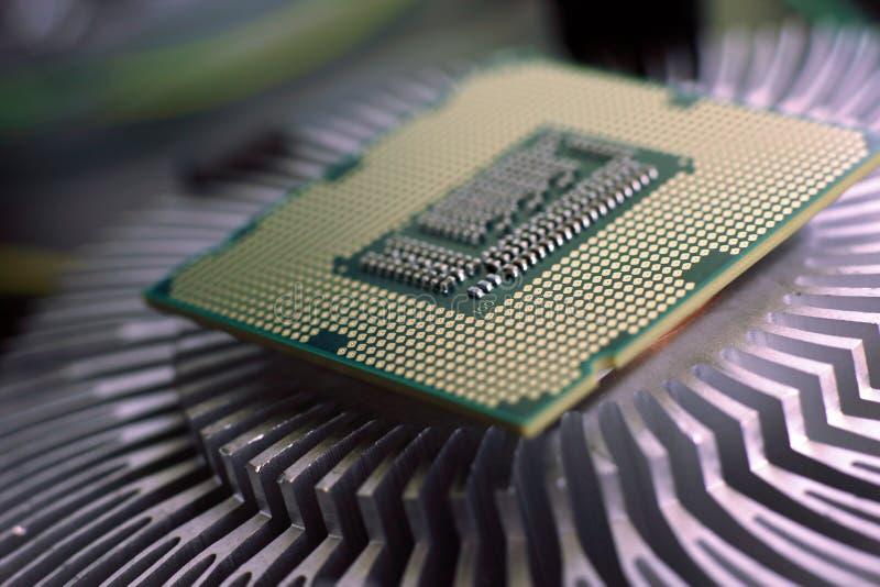 Ny teknikprocessor arkivbilder