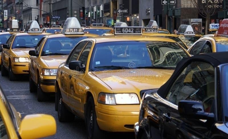 ny trafik york arkivbilder