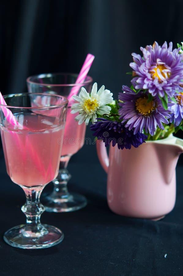 Ny tranbärlemonad arkivfoton