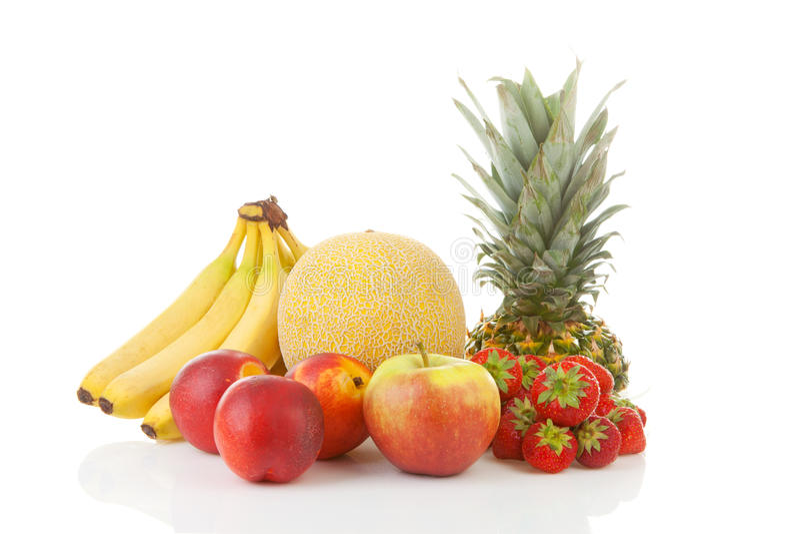Ny tropisk frukt royaltyfria bilder