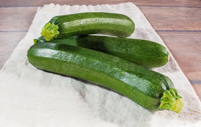 Ny ung zucchini royaltyfri fotografi