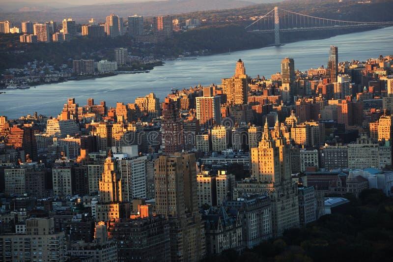 ny uptown york för stad arkivfoton