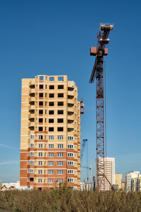 Ny utveckling i Lipetsk. royaltyfria foton