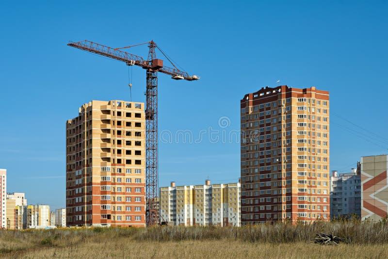 Ny utveckling i Lipetsk. royaltyfri bild
