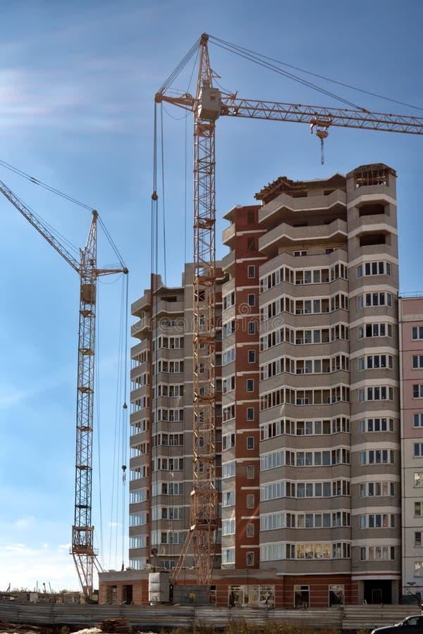 Ny utveckling i Lipetsk. arkivbild