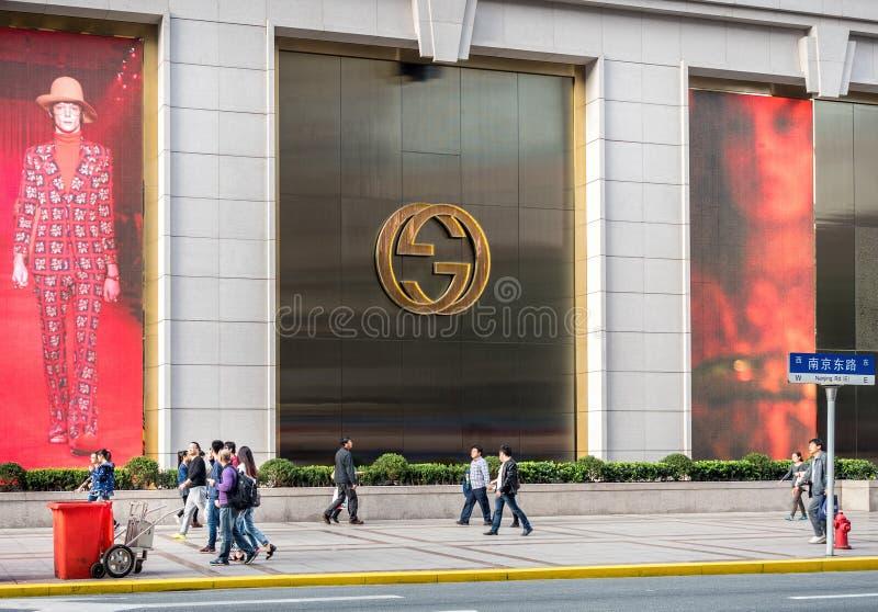 Ny värld Daimaru Dawan Department Store, Shanghai, Kina arkivbild