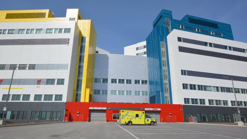 Ny vårdcentral för McGill universitet royaltyfri foto