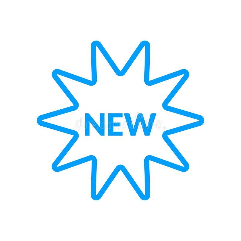 Ny vektorsymbol stock illustrationer