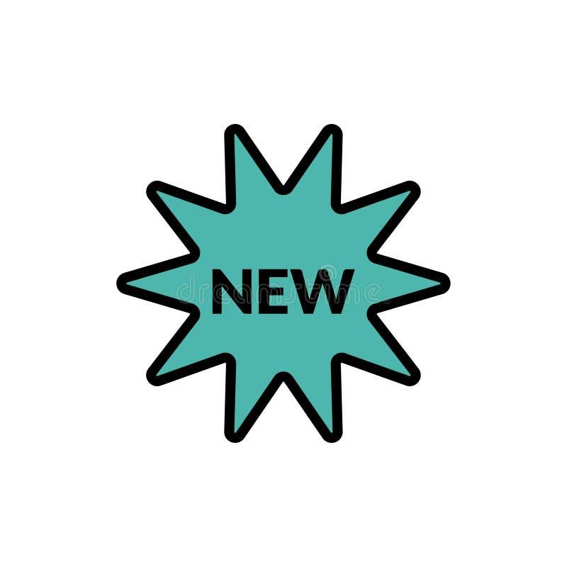 Ny vektorsymbol royaltyfri illustrationer