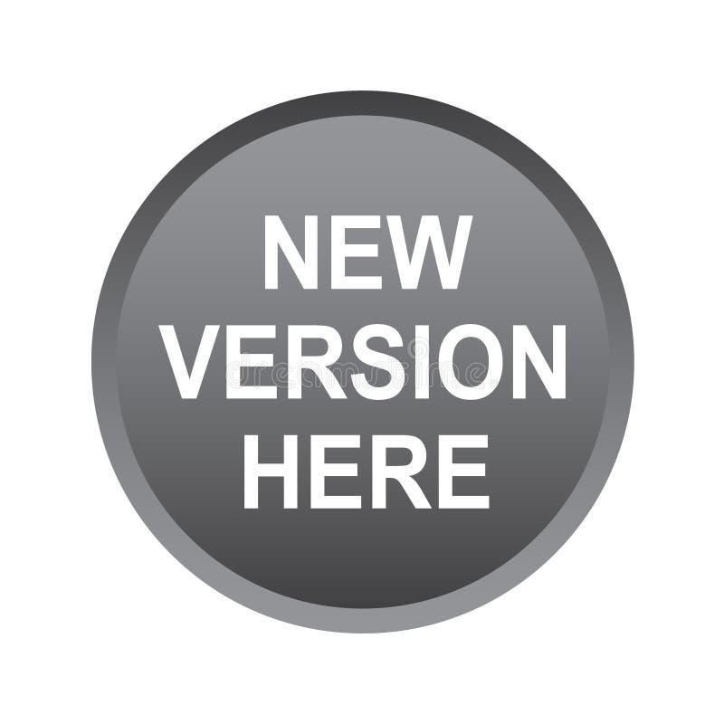 Ny version här vektor illustrationer