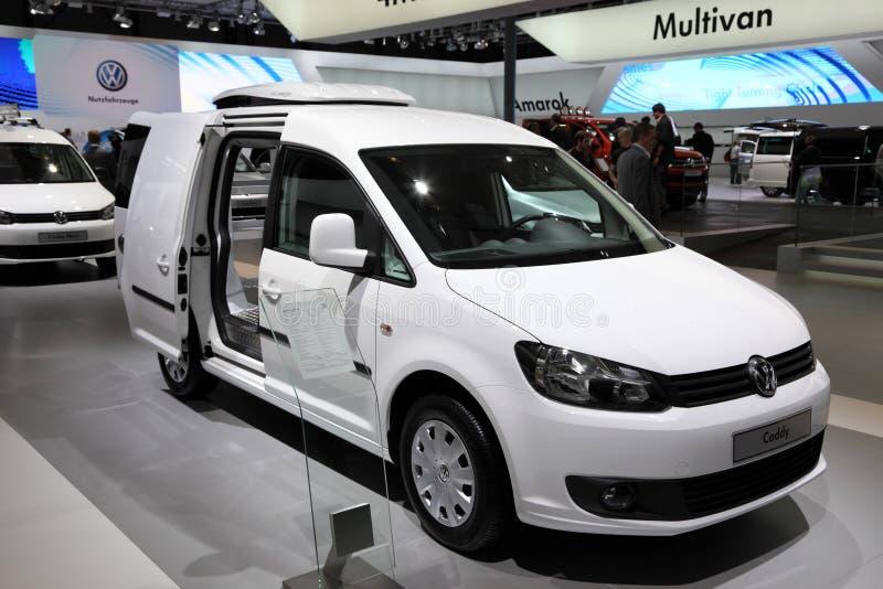Ny Volkswagen Caddy CoolProfi arkivfoton