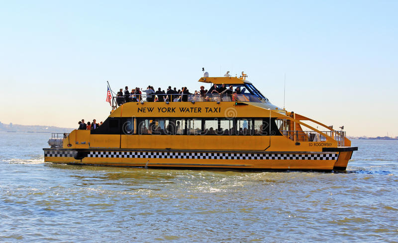 Download NY Water Taxi editorial stock photo. Image of city, taxi - 17019078